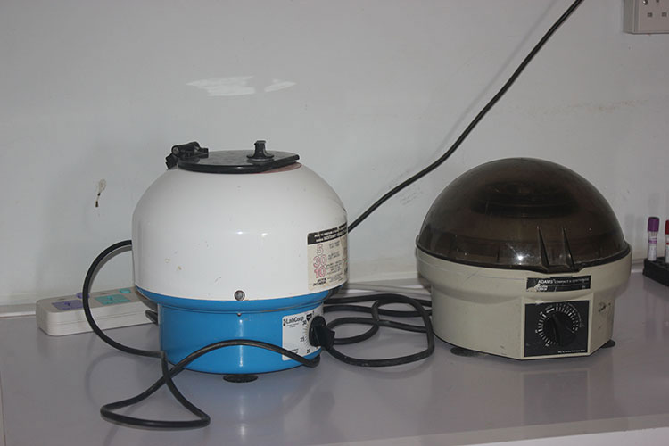 Centrifuge Machine at Medical Laboratory Sciences Skills Lab
