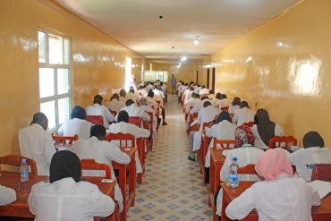 Amoud University College of Health Science has started Final Written Comprehensive Exam