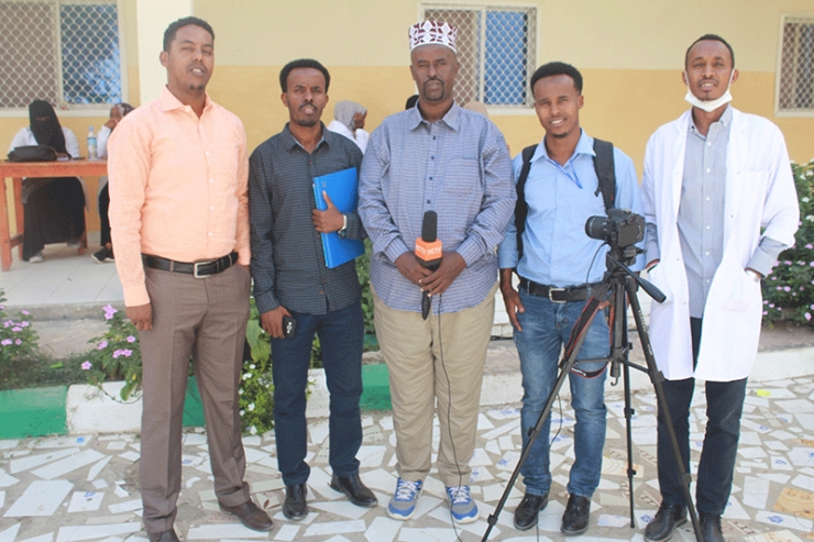 Senior Reports from Horn Cable TV Paid a visit to Amoud University