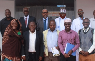 Amoud University (AU) hosted a delegation of the advance team of Kenyatta University