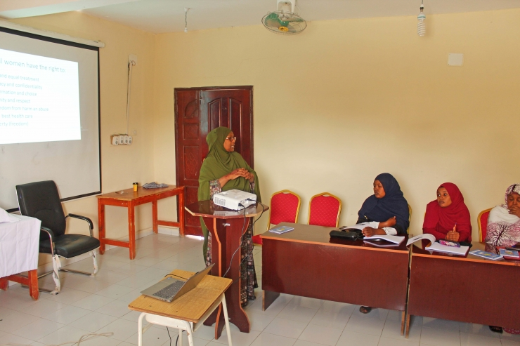 Amoud University Held a Training OF In-service Training (IST) for MCHs Healthcare workers