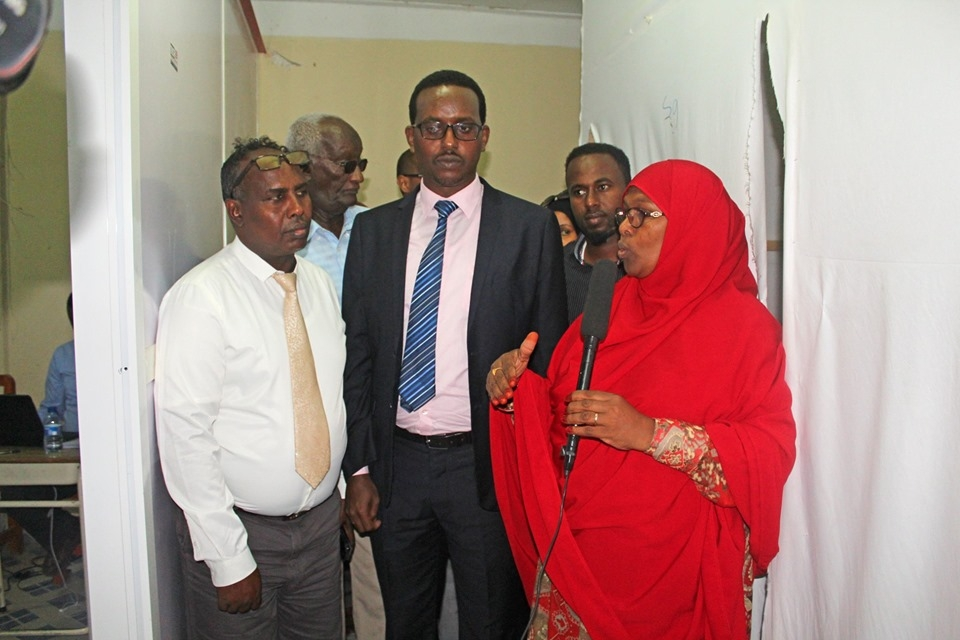 Hon. Omar A. Ali, the Somaliland Minister of Health Development paid a Visit to Amoud University